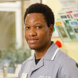 Kelvin Kamupira - dental nurse