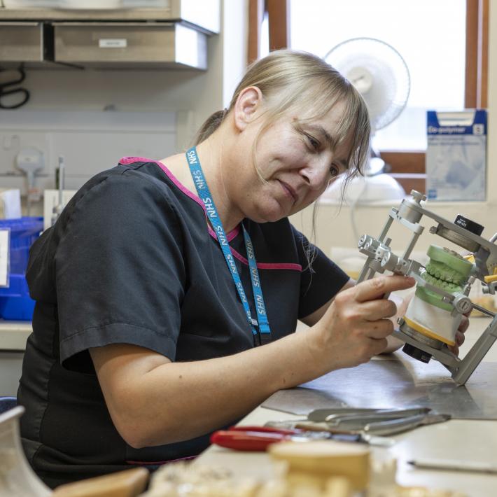 Andrea Johnson - Orthodontic & maxillofacial laboratory manager