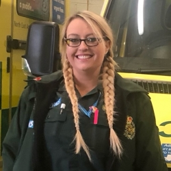 Katie Smith - Student paramedic at North East Ambulance Service