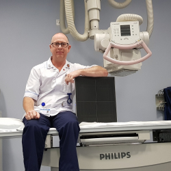 Diagnostic radiographer Paul Wicklen