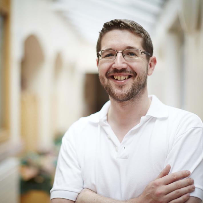 Physiotherapist Peter Eckersley