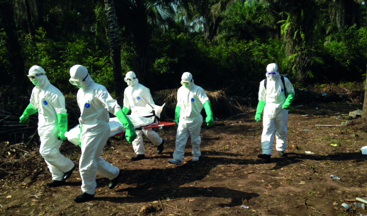 Ebola work in Sierra Leone