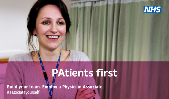 #associateyourself physician assocate campaign