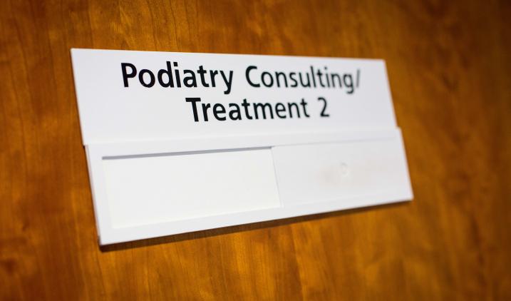 Podiatry signage