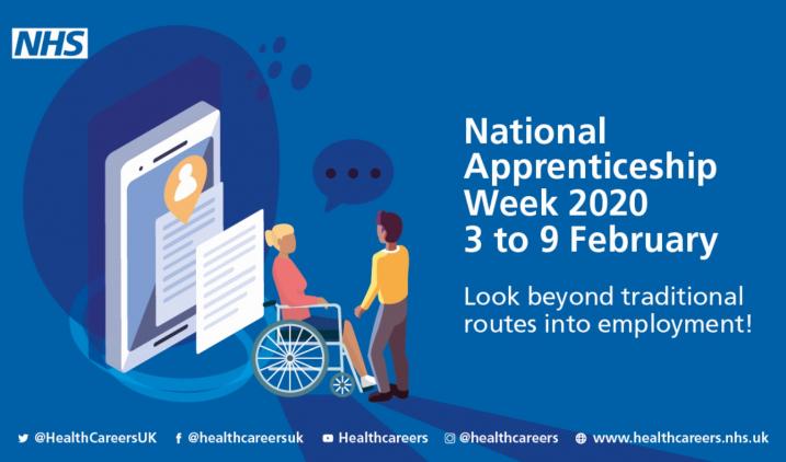 National Apprenticeship Week 2020 - Health Careers