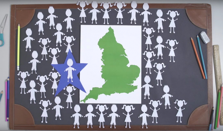 Schools' competition video - screen grab