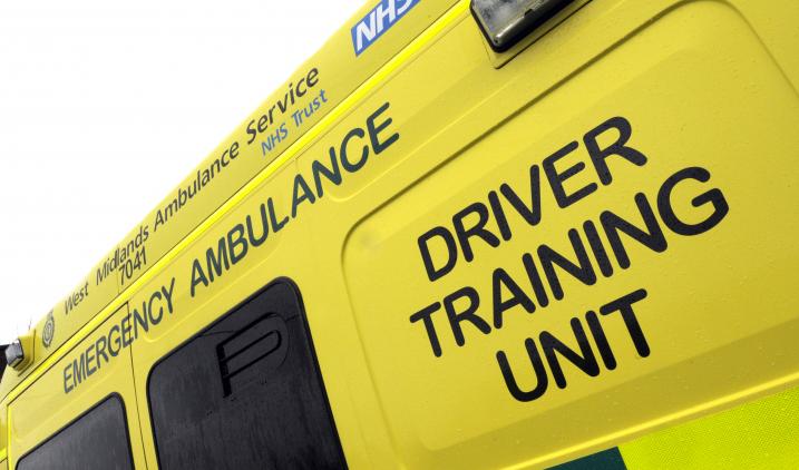 ambulance training vehicle