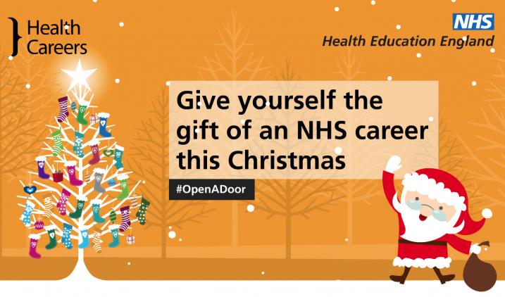 #openadoor Christmas campaign