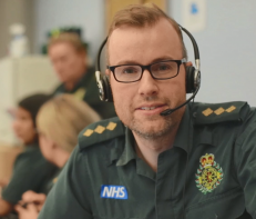 Ed Green, Regional clinical coordinator and paramedic
