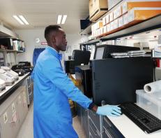 Nana Mensah, trainee clinical scientist