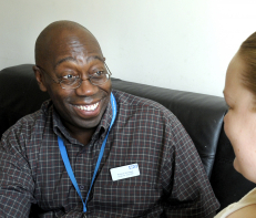 Richard Montague, Health visitor