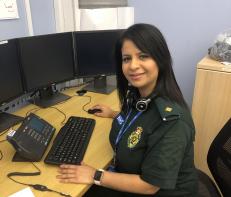 Rita Bains, team leader, emergency operations centre