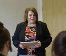 Claire Garner, Digital training and development manager