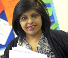 Nisha Shah, Specialist community public health nurse